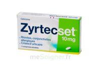 ZYRTECSET 10 mg, comprimé pelliculé sécable à Béziers