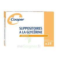 SUPPOSITOIRES A LA GLYCERINE COOPER Suppos en récipient multidose adulte Sach/25 à Béziers