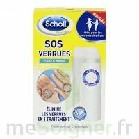 Scholl SOS Verrues traitement pieds et mains à Béziers