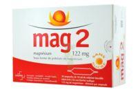 MAG 2 122 mg S buv en ampoule sans sucre édulcoré à la saccharine sodique 30Amp/10ml à Béziers