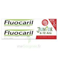 Fluocaril Junior Gel dentifrice Fruits rouges 6/12ans 2*75ml à Béziers