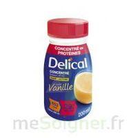 DELICAL BOISSON HP HC CONCENTREE Nutriment vanille 4Bouteilles/200ml à Béziers