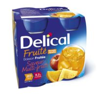 DELICAL BOISSON FRUITEE Nutriment multi fruits 4Bouteilles/200ml à Béziers