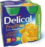 DELICAL BOISSON FRUITEE Nutriment édulcoré orange 4Bouteilles/200ml à Béziers