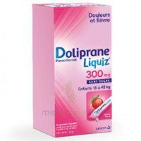 Dolipraneliquiz 300 mg Suspension buvable en sachet sans sucre édulcorée au maltitol liquide et au sorbitol B/12 à Béziers
