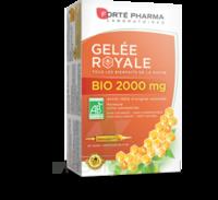 Forte Pharma Gelée royale bio 2000 mg Solution buvable 20 Ampoules/15ml à Béziers