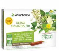 Arkofluide Bio Ultraextract Solution buvable détox 9 Plantes 20 Ampoules/10ml à Béziers